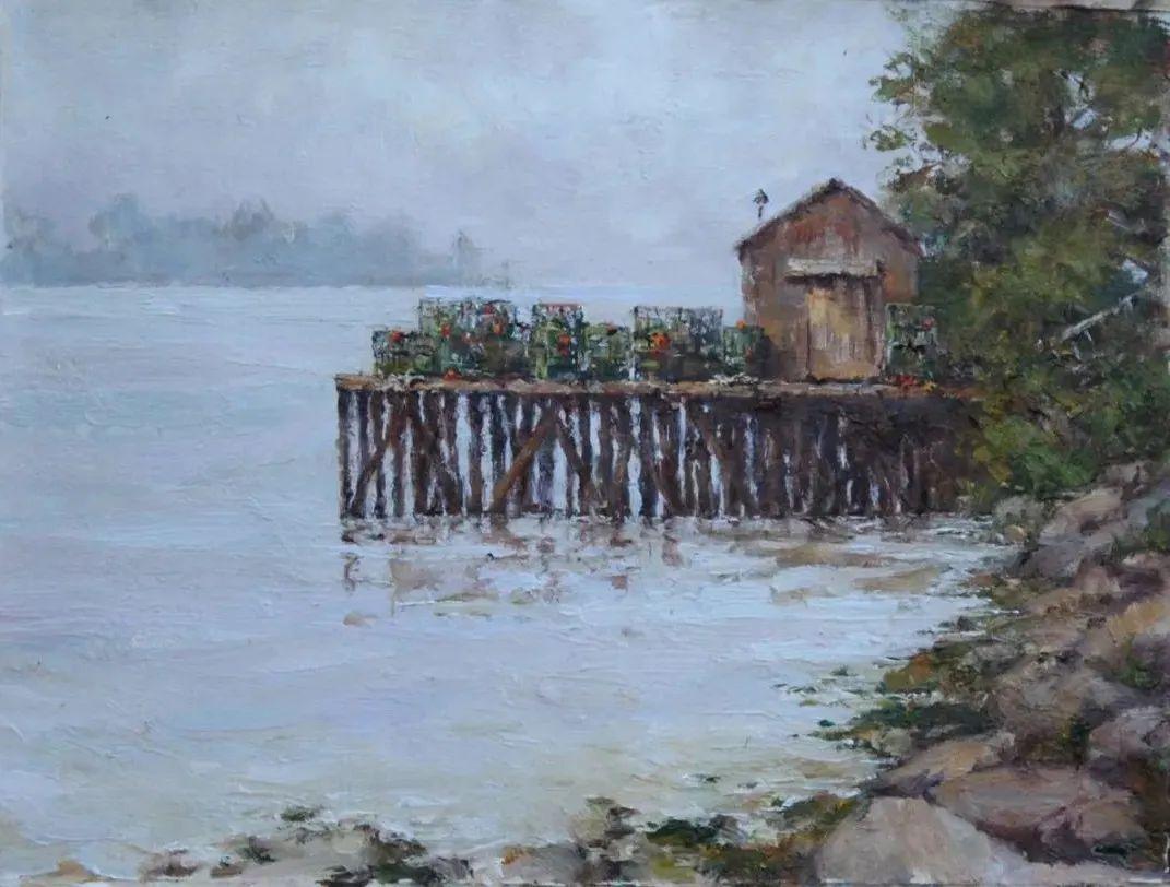 罗伯特·约翰逊笔下精美的风景、花卉油画插图75