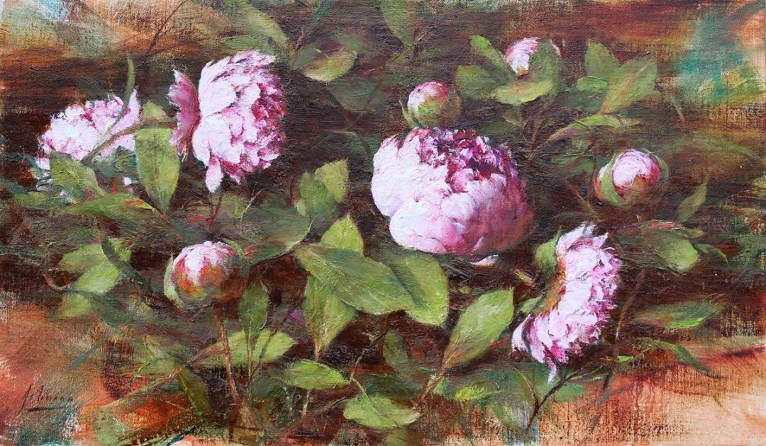 罗伯特·约翰逊笔下精美的风景、花卉油画插图85
