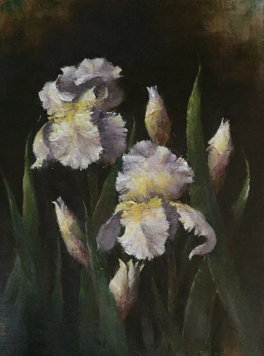 罗伯特·约翰逊笔下精美的风景、花卉油画插图103