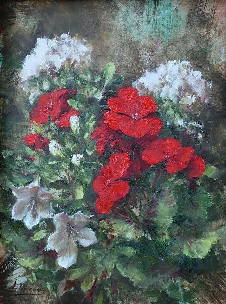 罗伯特·约翰逊笔下精美的风景、花卉油画插图105