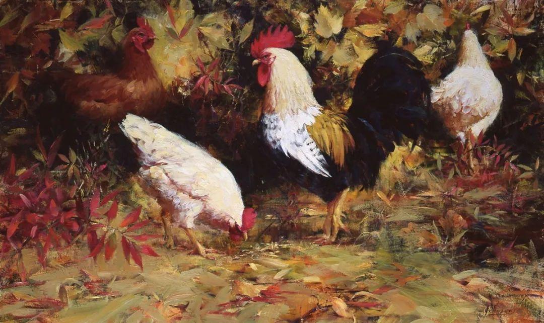 罗伯特·约翰逊笔下精美的风景、花卉油画插图119