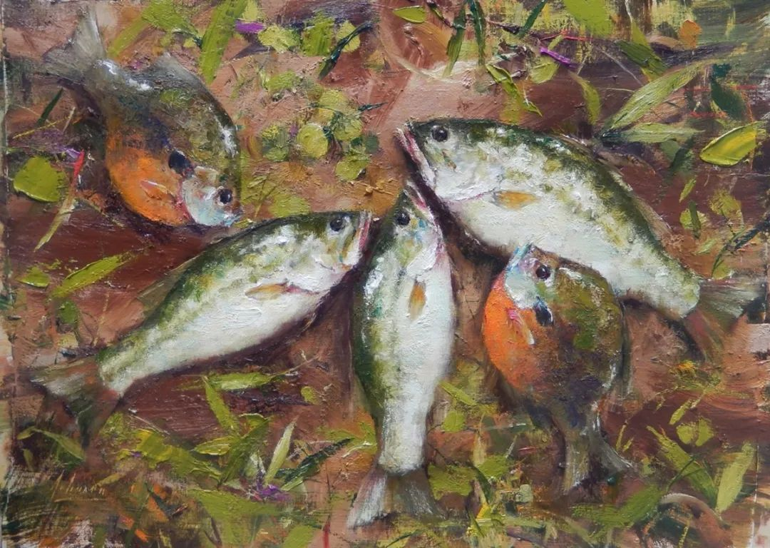 罗伯特·约翰逊笔下精美的风景、花卉油画插图123