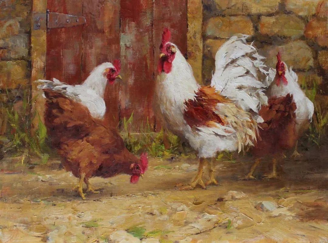 罗伯特·约翰逊笔下精美的风景、花卉油画插图125