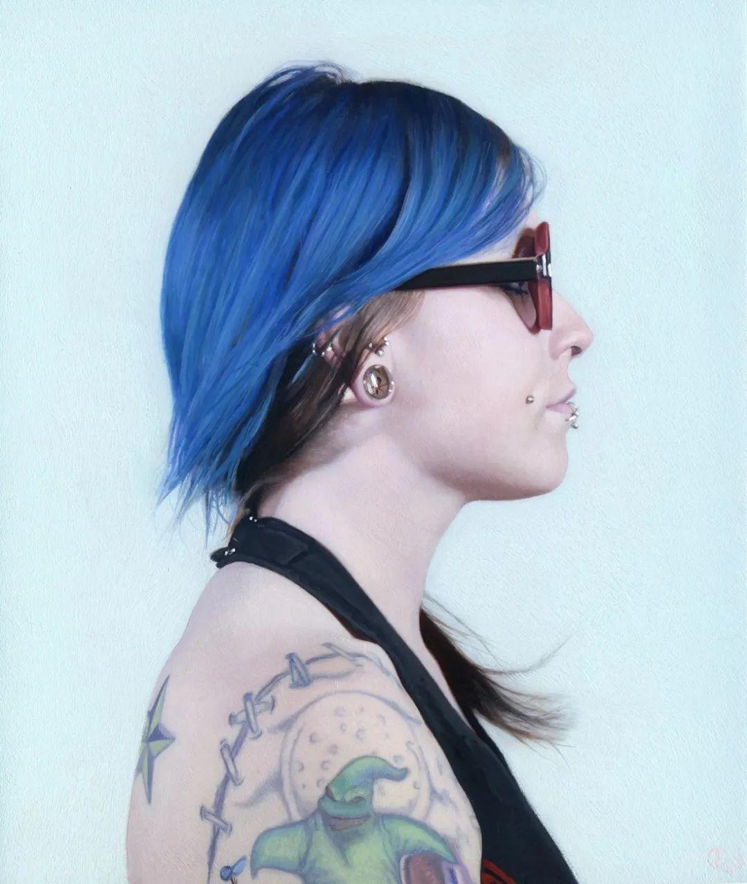 美国画家戴维·艾肯伯格的超写实油画插图3